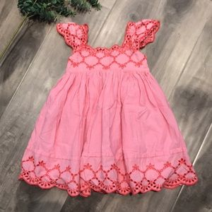 🔥4 for $25🔥 NEXT Pink eyelet lace dress